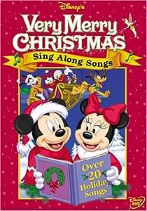Disney's Very Merry Christmas Sing Along Songs