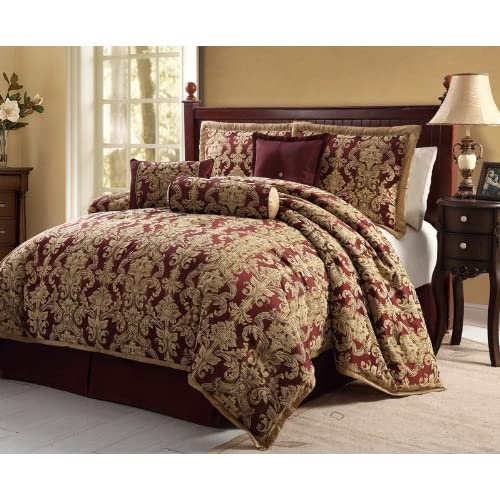 Burgundy King Comforter Set Car Interior Design