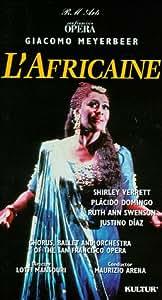 Meyerbeer - L'Africaine / Arena, Domingo, Verrett, San Francisco Opera [VHS]
