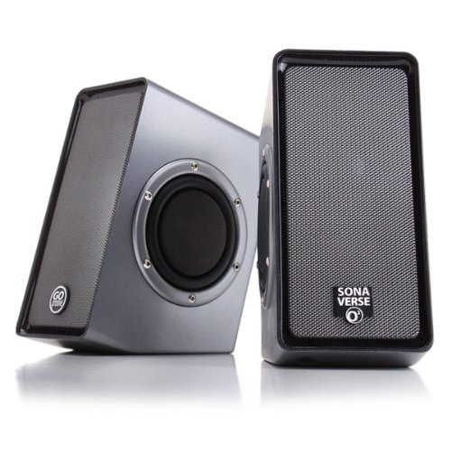 Gogroove Sonawave O2 Usb Powered Multimedia Computer Speakers System With Passive Subwoofers And Volume Control