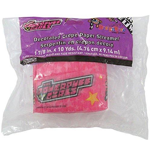 Powerpuff Girls Crepe Paper Streamer (1ct) - 1