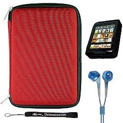 Ebigvalue Tablet Folio Case - Red
