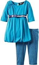 A.B.S. by Allen Schwartz Baby-Girls Infant Maryann Bubble Set, Turquoise, 12 Months