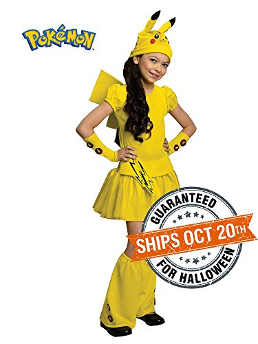 Pokemon-Girl-Pikachu-Costume-Dress