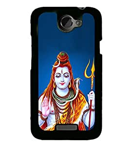 Lord Shankar 2D Hard Polycarbonate Designer Back Case Cover for HTC One X :: HTC One X+ :: HTC One X Plus :: HTC One XT