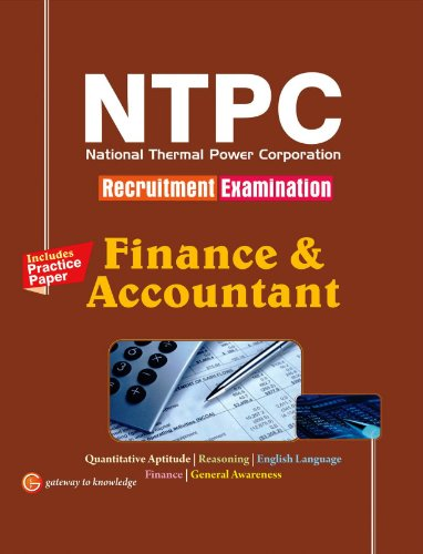 Guide to NTPC Finance & Accountant 2014