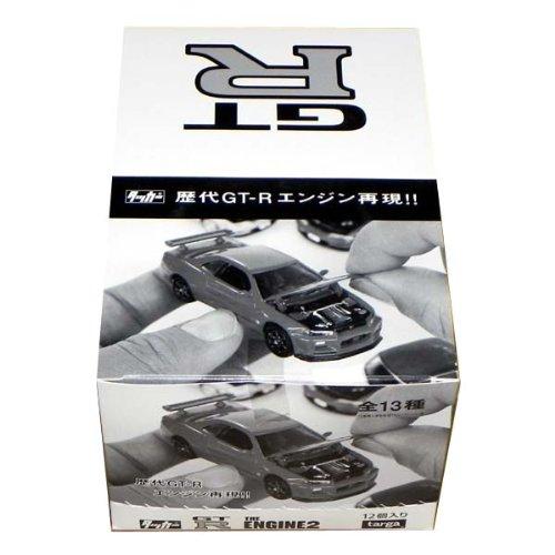 タルガ 限定 タッカー GT-R THE ENGINE2 精密ダイキャストモデルエンジン再現 1/64 1BOX、12個入り 模型ミニカー