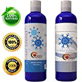 ★ Shampoo and Conditioner Set ★ Winter Blend Shampoo + Natural Conditioner Set with 5 Mint Varieties ★ Gentle Ingredients for Women & Men - Safe for Colored Treated Hair ★ USA Made By Maple Holistics