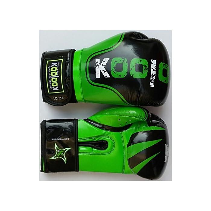 Guantoni da Boxe Koolook Mikaido black – green 10 OZ: prezzi, offerte vendita online