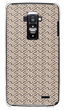 携帯電話taro au G Flex LGL23 カバー/ケース (和柄 サンドベージュ) エーユー ジー フレックス LGL23-TAR-0301