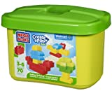 Mega Bloks Create 'N Play Junior 70 Piece Blocks Set Endless Building Tub 3-6yrs