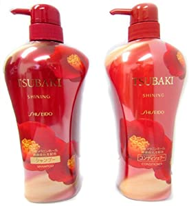 Shiseido Tsubaki Shining - Shampoo and Conditioner (550ml)