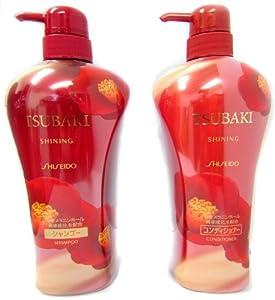 Shiseido Tsubaki Shining - Shampoo and Conditioner (550ml)