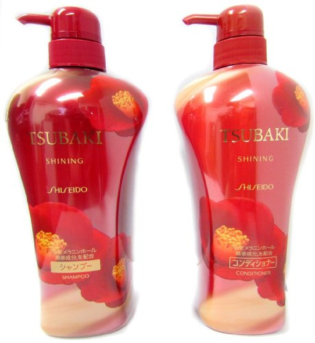 Shiseido Tsubaki Shining – Shampoo and Conditioner (550ml)