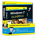 img - for Windows 7 For Dummies Book + DVD Bundle book / textbook / text book