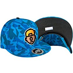 Trukfit Mens Truk Da Wurl Adjustable Hat/Cap, Electric Blue Camo, One Size