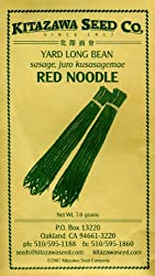 Honeyman Farms 2034 Bean Yard Long Red Noodle Seed Packet