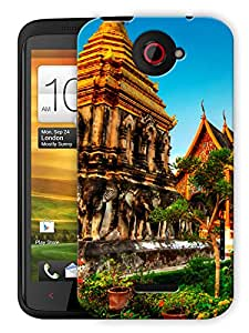 """Humor Gang Wallpaper Scenery Printed Designer Mobile Back Cover For """"HTC ONE X"""" (3D, Matte, Premium Quality Snap On Case)"""