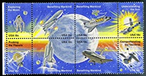 the first space shuttle on moon stamp - photo #7