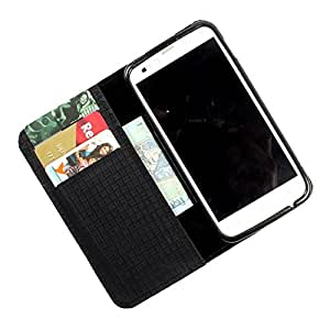For Micromax Canvas 3 A115 - PU Leather Wallet Flip Case Cover