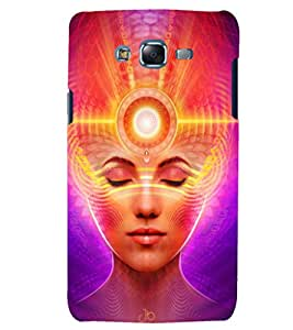 Fuson 3D Designer Mobile Back Case Cover For Samsung Galaxy J7