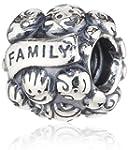 Pandora Damen-Bead Familie 925 Sterli...