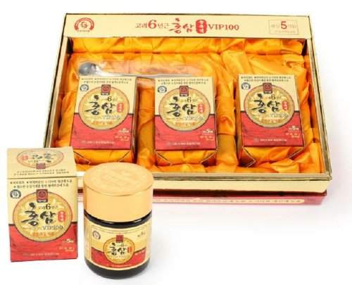 100G(3.5Oz) X 3Ea_100% Pure Korean 6Years Root Red Ginseng Extract, Saponin, Panax