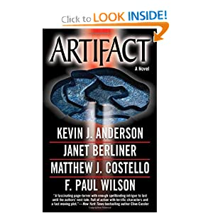 Artifact (Anderson, Kevin J.) by Kevin J. Anderson, Janet Berliner, F. Paul Wilson and Matthew Costello
