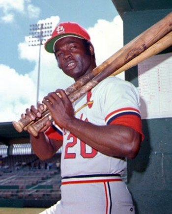 Lou Brock St. Louis Cardinals Baseball Photo Print (8 x 10) at Amazon.com