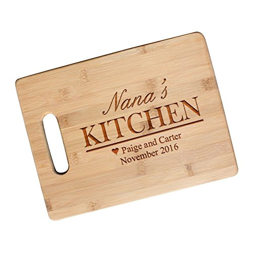 Personalized Moms Kitchen Gift Cutting Board for Mom Gifts, Grandma, Friend, Engraved Mother's Day Gift, Christmas Gift - JS20