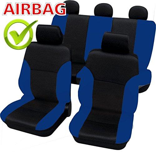 akhan sb104 qualit housse de si ge auto housses d j housses housse avec airbag lat ral noir. Black Bedroom Furniture Sets. Home Design Ideas