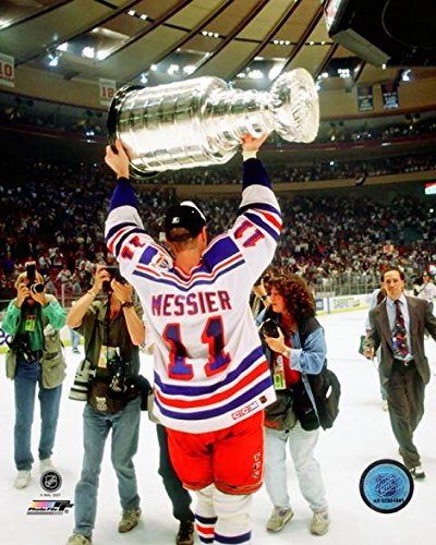 Mark Messier 1993-94 Stanley Cup Finals Celebration Photo Print (8 x 10)