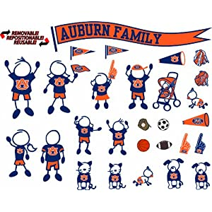 NCAA Auburn Tigers Decal Family