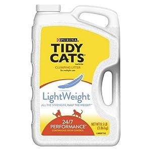 Amazon Purina Tidy Cats Clumping Litter Light Weight