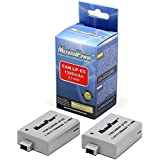 MaximalPower 2Pack Replacement Battery for Canon LP-E5 & EOS Rebel XSi,XS,T1i,EOS 450D,EOS 500D and EOS 1000D Camera