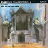 Bach: Piano transcriptions 2