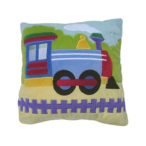 Olive Kids Trains, Planes, & Trucks Plush Pillow