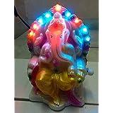 Ganesh Ji, 28 Mantra Musical Mantra Speaker With LED Lights For Diwali Lghts Decoration