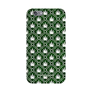 HomeSoGood Perfectly Placed Flowers Green 3D Mobile Case For iPhone 6S (Back Cover)