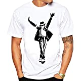 Seven Wolf Michael Jackson Dangerous dance Men's T shirt