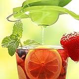 Innovee Lemon Squeezer - Jumbo Size Manual Lemon Juicer - Citrus Juicer Press - Green