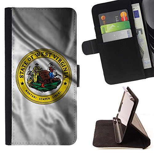 fjcases-west-virginia-the-mountain-state-waving-seal-flag-slim-wallet-card-holder-flip-leather-case-