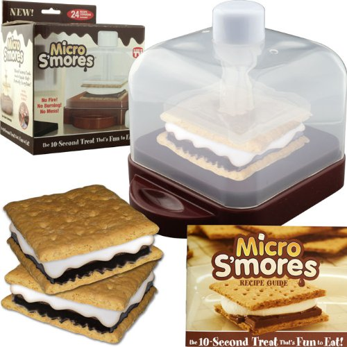 Micro S'mores w/ 12 Classic and 12 Holiday Recipes