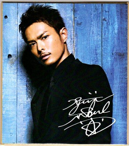 三代目 J Soul Brothers サイン入り ミニ色紙 Type,8362【今市隆二】