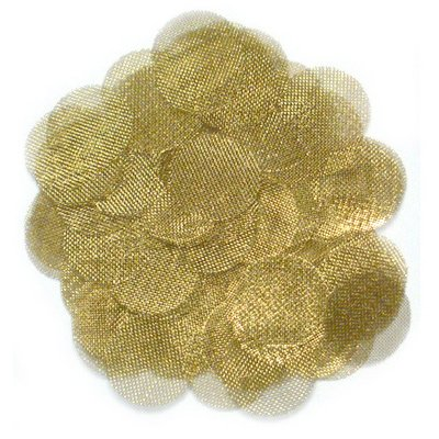 Brass Screens ~ .500 ~ 100 Pc Hardware