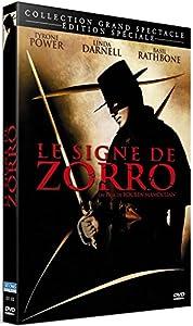 Le signe de zorro [Édition SpécialeL] [Blu-ray + DVD + Livre] [Édition Collector Blu-ray + DVD + Livre]