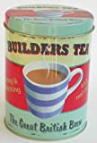 Storage Tin - 'Builders Tea' Storage Tin (G142)