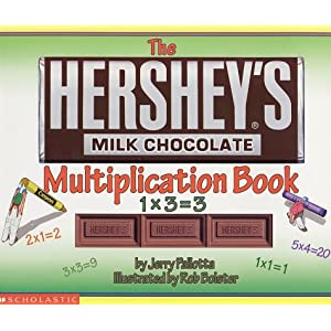 Hershey's Milk Chocolate Multiplication Book
