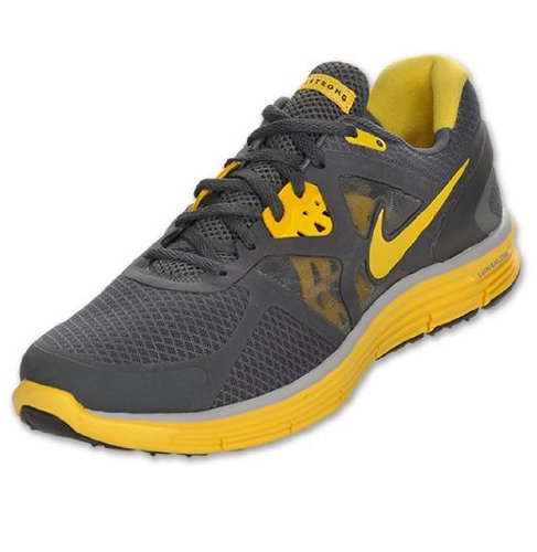 7c1f86de23a6 Feature of Nike Lunarglide 3 LAF Mens Running Shoes 454515 070 Dark Grey 13  M US