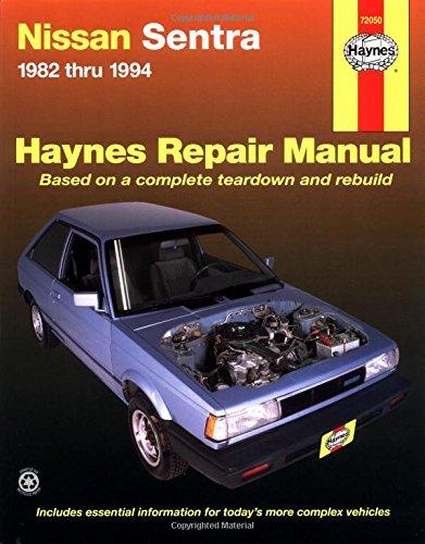 Nissan Sentra  '82'94 (Haynes Repair Manuals) (Haynes Nissan Sentra compare prices)
